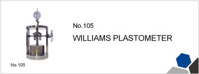 105 WILLIAMS PLASTOMETER