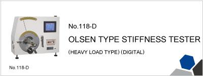 18-D OLSEN TYPE STIFFNESS TESTER (HEAVY LOAD TYPE) (DIGITAL)