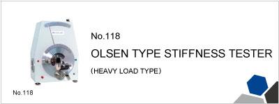 118 OLSEN TYPE STIFFNESS TESTER (HEAVY LOAD TYPE)
