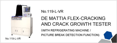 119-L-VR DE MATTIA FLEX-CRACKING AND CRACK GROWTH TESTER