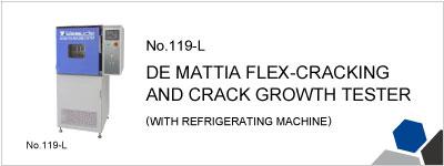 119-L DE MATTIA FLEX-CRACKING AND CRACK GROWTH TESTER