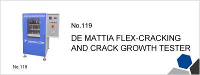 119 DE MATTIA FLEX-CRACKING AND CRACK GROWTH TESTER