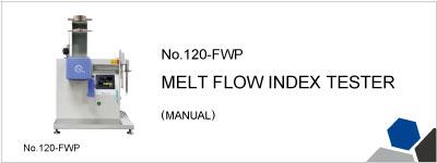 No.120-FWP MELT FLOW INDEX TESTER
