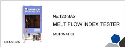 No.120-SAS  MELT FLOW INDEX TESTER