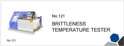 No.121 BRITTLENESS TEMPERATURE TESTER