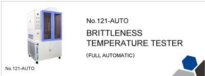 No.121-AUTO  BRITTLENESS TEMPERATURE TESTER