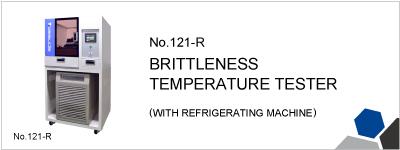 No.121-R BRITTLENESS TEMPERATURE TESTER