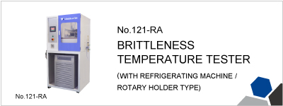 No.121-RA BRITTLENESS TEMPERATURE TESTER