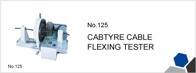 No.125 CABTYPE CABLE FLEXING TESTER