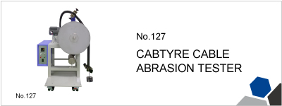 No.127 CABTYPE CABLE ABRASION TESTER