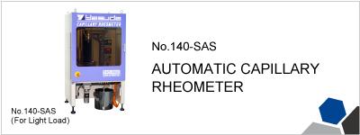 140-SAS AUTOMATIC CAPILLARY RHEOMETER