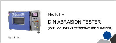 151-H DIN ABRASION TESTER (WITH CONSTANT TEMPERATURE CHAMBER)