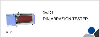 151 DIN ABRASION TESTER