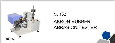 152 AKRON RUBBER ABRASION TESTER