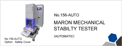 156-AUTO MARON MECHANICAL STABILITY TESTER (AUTOMATIC)