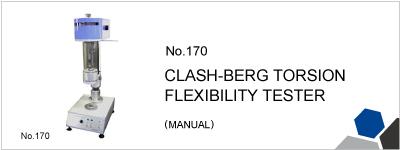 170 CLASH-BERG TORSION FLEXIBILITY TESTER (MANUAL)