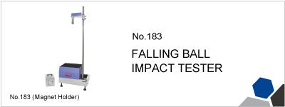 No.183 FALLING BALL IMPACT TESTER