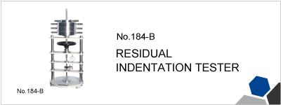 184-B RESIDUAL INDENTATION TESTER
