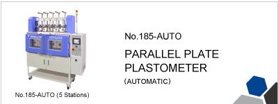 No.185-AUTO PARALLEL PLATE PLASTOMETER