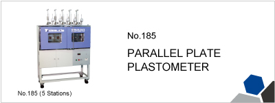 No.185 PARALLEL PLATE PLASTOMETER