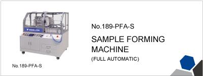 189-PFA-S  SAMPLE FORMING MACHINE (FULL AUTOMATIC)