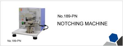 No.189-PN NOTCHING MACHINE