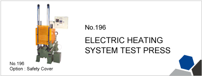 196 ELECTRIC HEATING SYSTEM TEST PRESS