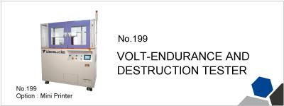 No.199 VOLT-ENDURANCE AND DESTRUCTION TESTER