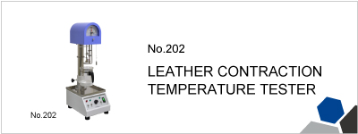 No.202 LEATHER CONTRACTION TEMPERATURE TESTER
