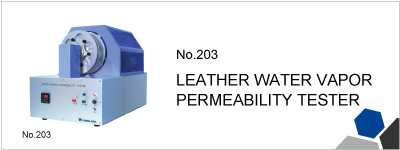No.203 LEATHER WATER VAPOR PERMEABILITY TESTER