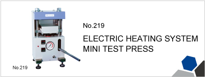 219 ELECTRIC HEATING SYSTEM MINI TEST PRESS