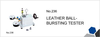 No.236 LEATHER BALL-BURSTING TESTER