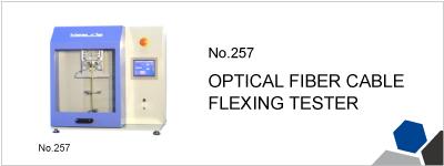 No.257 OPTICAL FIBER CABLE FLEXING TESTER