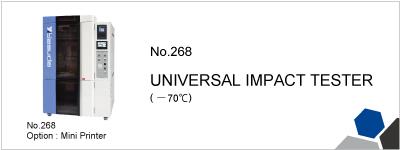 No.268 UNIVERSAL IMPACT TESTER
