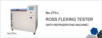 270-L ROSS FLEXING TESTER (WITH REFRIGERATING MACHINE)