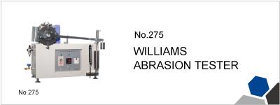 275 WILLIAMS ABRASION TESTER