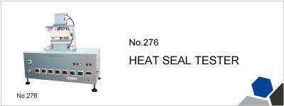 No.276 HEAT SEAL TESTER