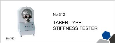No.312 TABER TYPE STIFFNESS TESTER