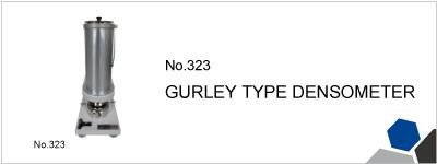 No.323 GURLEY TYPE DENSOMETER