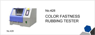 No.428 COLOR FASTNESS RUBBING TESTER