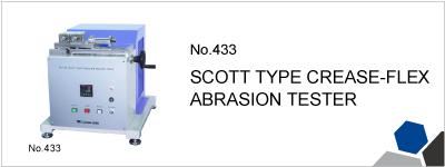 No.433 SCOTT TYPE CREASE-FLEX ABRASION TESTER