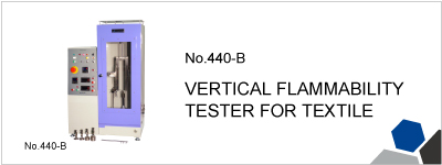 440-B VERTICAL FLAMMABILITY TESTER FOR TEXTILE