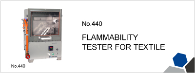 440 FLAMMABILITY TESTER FOR TEXTILE