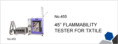 455 45° FLAMMABILITY TESTER FOR TXTILE