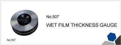 No.507 WET FILM THICKNESS GAUGE