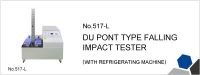No.517-L DU PONT TYPE FALLING IMPACT TESTER