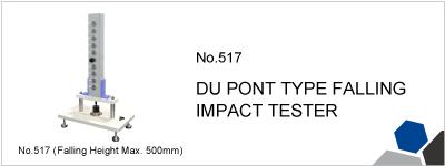 No.517 DU PONT TYPE FALLING IMPACT TESTER
