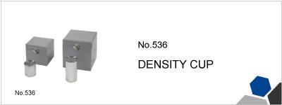 No.536 DENSITY CUP