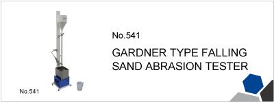 No.541 GARDNER TYPE FALLING SAND ABRASION TESTER
