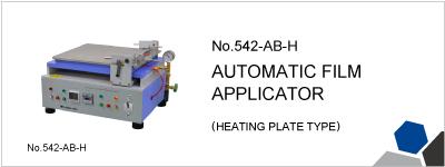 No.542-AB-H AUTOMATIC FILM APPLICATOR